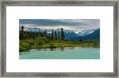 Framed Print featuring the photograph Kenai by Gary Lengyel