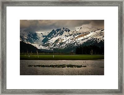 Kenai Peninsula Framed Print