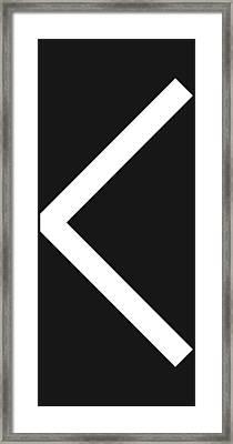 Kenaz Framed Print