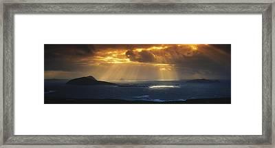 Kenmare Bay, Dunkerron Islands, Co Framed Print