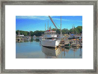 Kennebunk, Maine - 2 Framed Print by Jerry Battle
