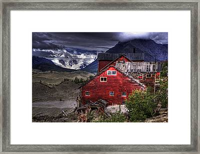 Kennecott Mine  Framed Print