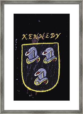 Kennedy Framed Print by Barbara McDevitt