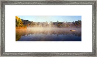 Kennedy Pond Framed Print by Frank Winters