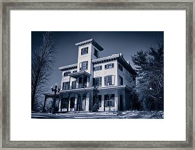 Kennedy-supplee Mansion Framed Print