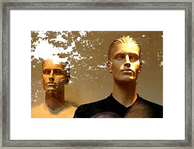 Kenneth Framed Print by Jez C Self