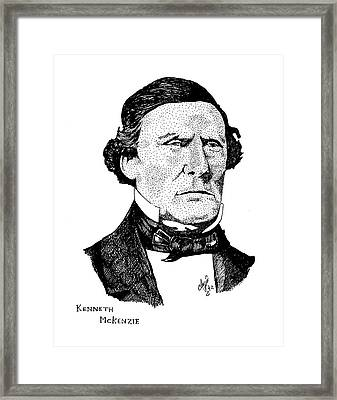 Kenneth Mckenzie Framed Print