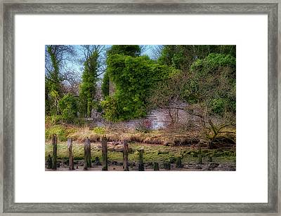 Framed Print featuring the photograph Kennetpans Distillery Ruins by Jeremy Lavender Photography