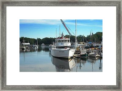 Kennubunk, Maine -1 Framed Print