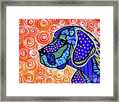 Kenny Framed Print by Jackie Carpenter