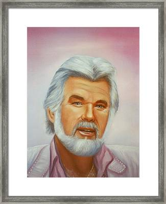 Kenny Framed Print by Joni McPherson