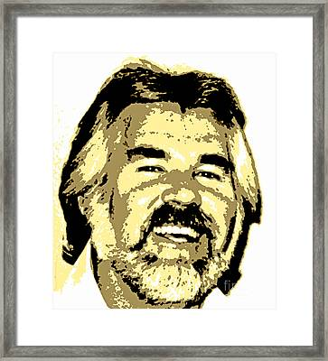 Kenny Framed Print by Pd