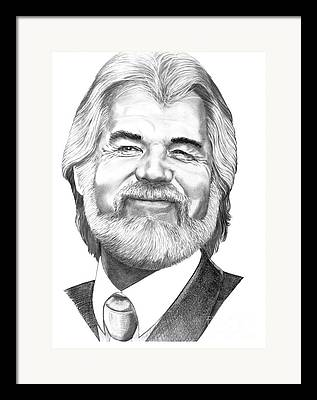 Kenny Rogers Framed Prints
