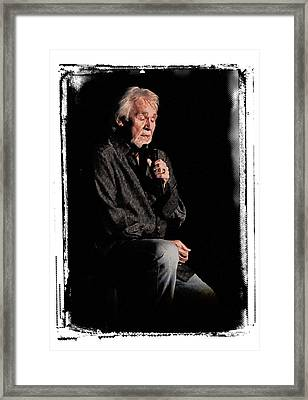 Kenny Framed Print by Wade Aiken