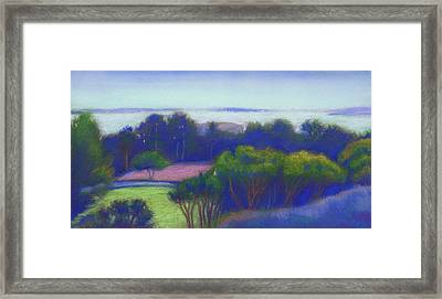 Kensington Blue View Framed Print