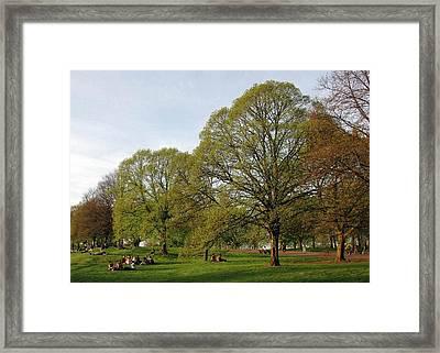 Kensington Gardens Framed Print by David L Griffin