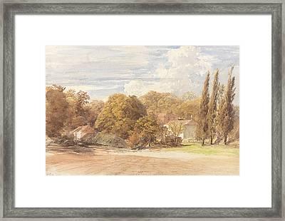 Kensington Gardens Framed Print