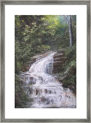 Kent Falls Framed Print by Jack Skinner