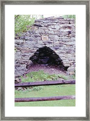 Kent Furnace Framed Print