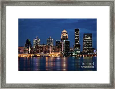 Kentucky Blue Framed Print