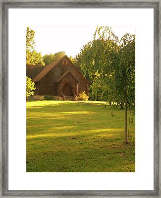 Kentucky Church Framed Print by Utopia Concepts