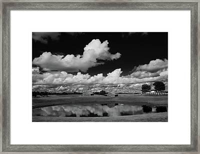 Kentucky Clouds Framed Print by Keith Bridgman