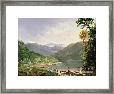 Kentucky River Framed Print