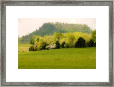 Kentucky Springtime Framed Print