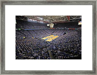 Kentucky Wildcats Rupp Arena Framed Print