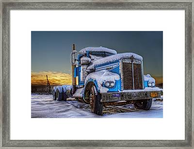 Kenworth Waiting For Summer Framed Print by Thomas Payer