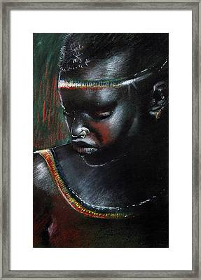 Kenya Beauty Framed Print