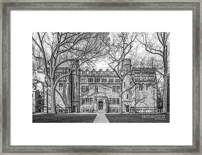 Kenyon College Mather Hall Framed Print by University Icons