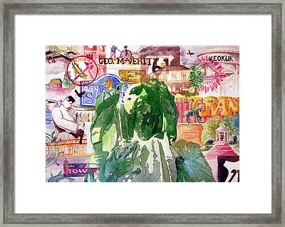 Keokuk Legacy Framed Print by Jame Hayes