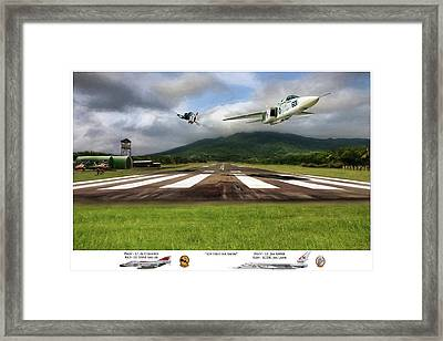 Kep Field Air Show Framed Print