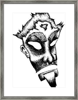 Kerberos Framed Print by Jera Sky