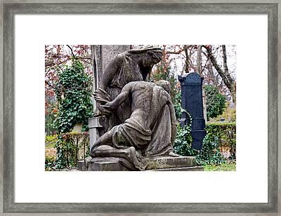 Kerepesi Cemetery, Budapest 1 Framed Print by Vladi Alon