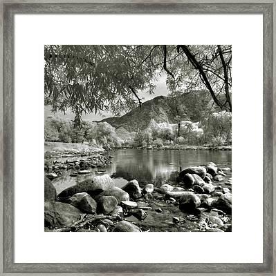 Kern River Park Framed Print