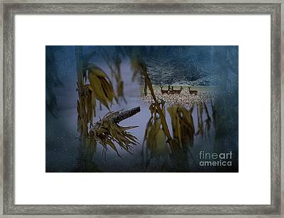 Kernal Framed Print by The Stone Age