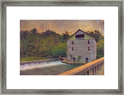 Kern's Mill Framed Print
