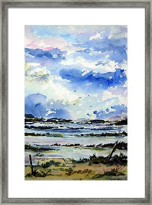 Kerry Morning Framed Print by Wilfred McOstrich
