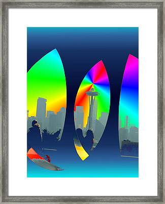 Kerry Needle 3 Framed Print by Tim Allen