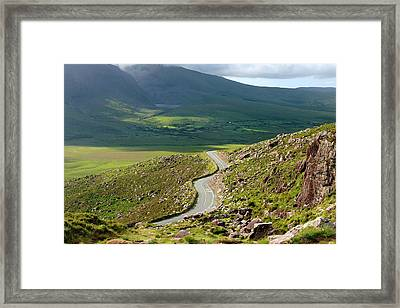 Kerry Road Ireland Framed Print by Pierre Leclerc Photography