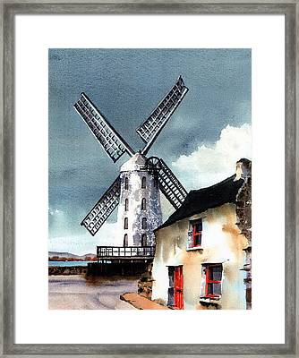 Kerry Windmill At Blennerville Framed Print