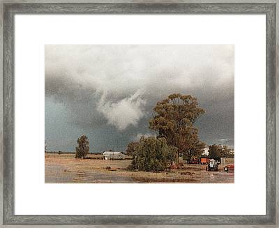 Kerula Storm  Framed Print