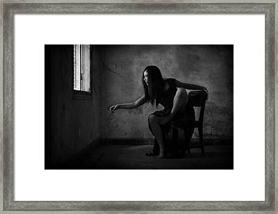 Kerygma Framed Print by Joey Bangun