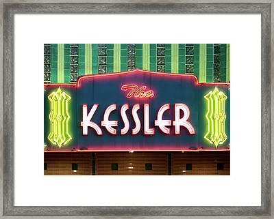 Kessler Theater 042817 Framed Print