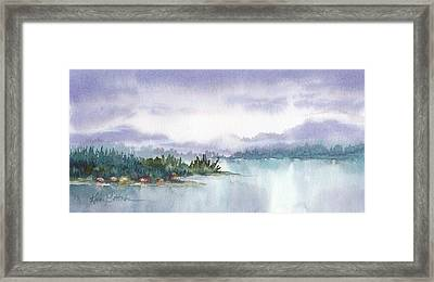 Ketchikan Alaska Inside Passage Shores Framed Print