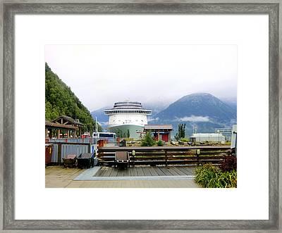 Ketchikan Alaska  Framed Print by Mindy Newman