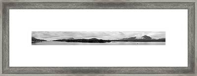 Ketchikan Harbor Framed Print