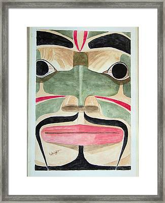 Ketchikan Native Framed Print by Larry Wright